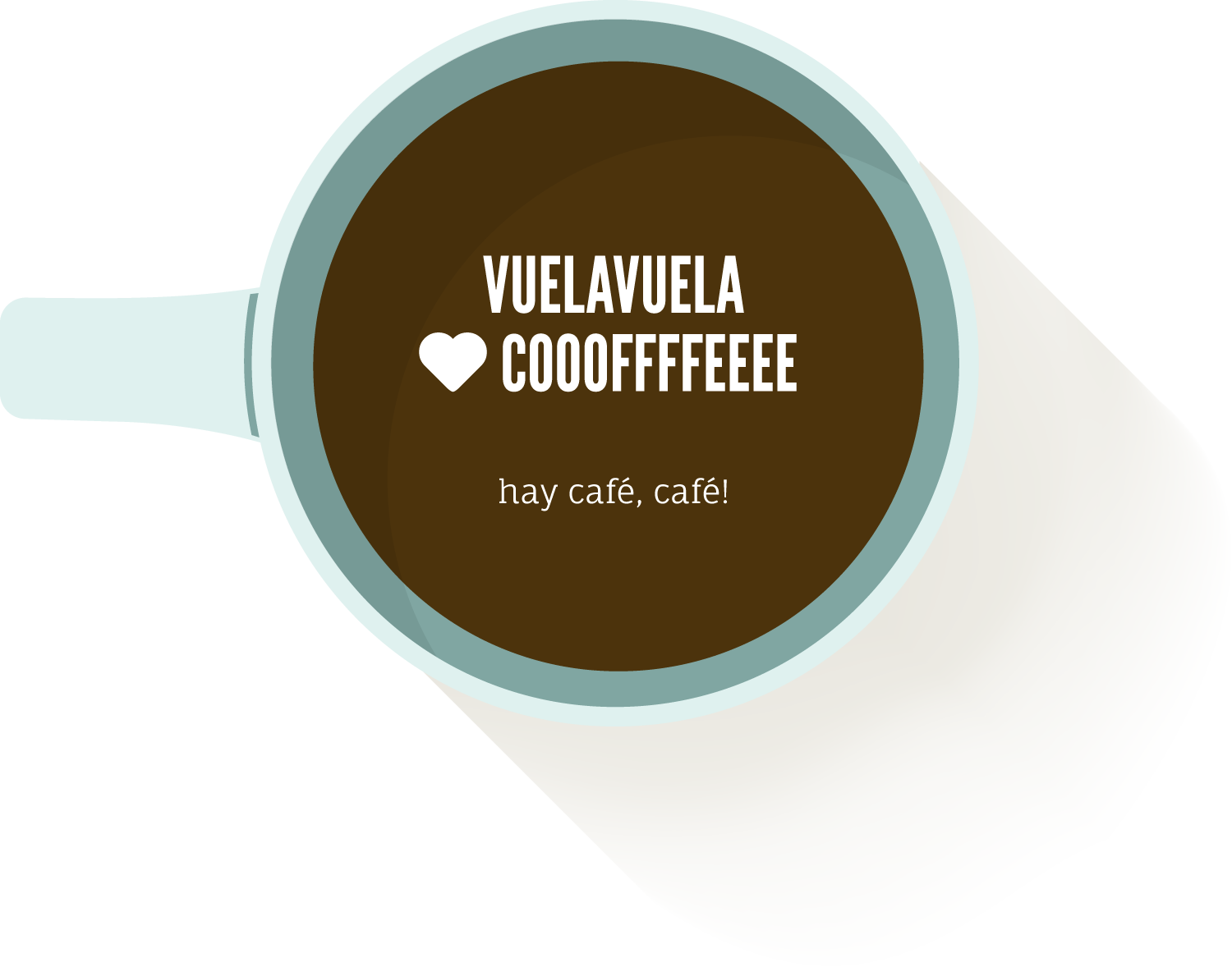 A relaxing cup of coffee from VuelaVuela