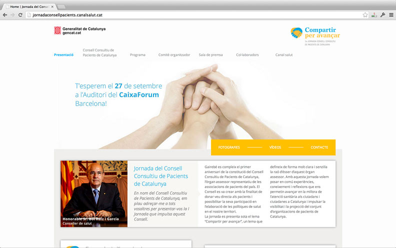 Jornada consell homepage