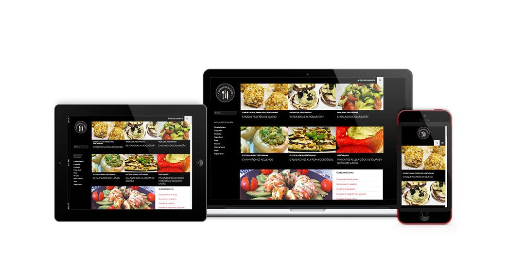 Blog de recetas Conreceta